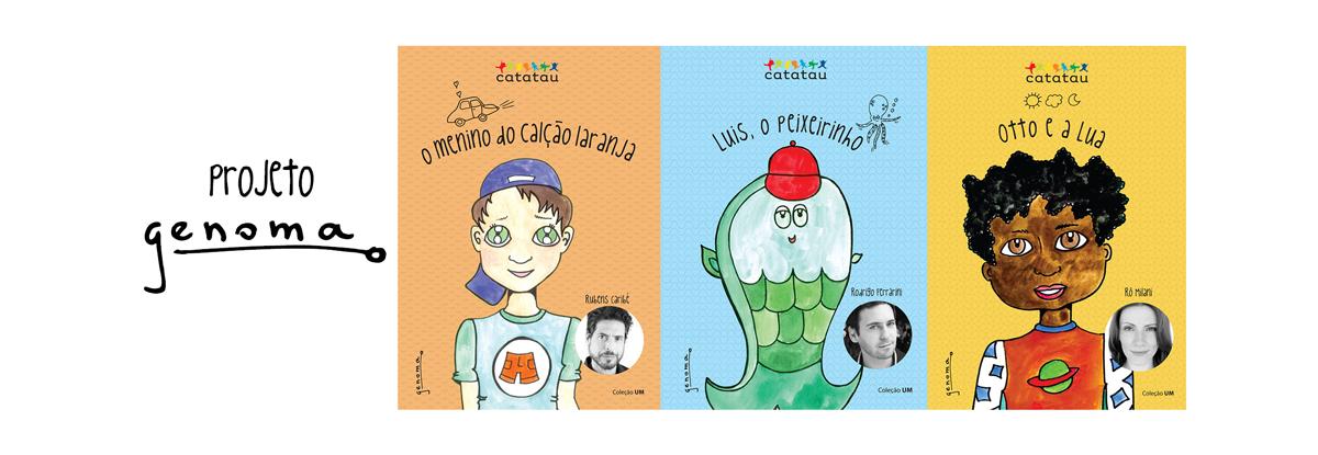 Projeto Genoma - Livros Infantis